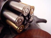 Pistolet z pociskami obraz royalty free
