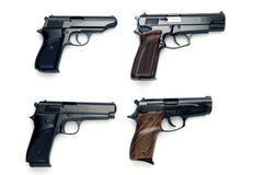 Pistolets Image libre de droits