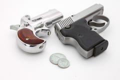 Pistolets de poche photographie stock libre de droits