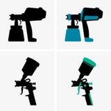 Pistolets de pulvérisation Photo stock