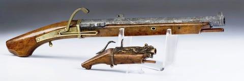 Pistolets japonais et de Chinois de Marchlock Photo stock