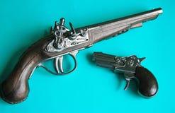 Pistolety Zdjęcia Stock