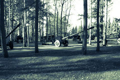 Pistolety i militarny wyposażenie Zdjęcie Royalty Free