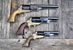Pistolety które wygrywali zachód Fotografia Stock