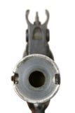 pistolhot Royaltyfri Bild