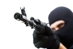 pistolhot Royaltyfria Bilder