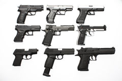 Pistols Stock Images
