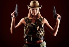 Pistols Royalty Free Stock Photography