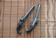 Pistols. Image for the different pistols Royalty Free Stock Photography