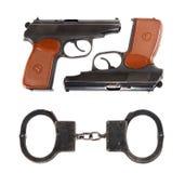 Pistols Royalty Free Stock Photo