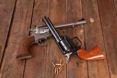 Pistols Royalty Free Stock Photography