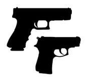 Pistols Royalty Free Stock Photos