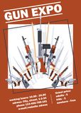 Pistols vector military weapon gun retro firearm revolver backdrop illustration wildlife cartoon wildwest handgun. Ammunition background banner stock illustration