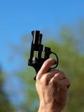 pistolstartknappar Arkivfoton