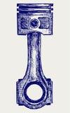 Piston illustration de vecteur