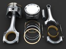Piston d'engine illustration libre de droits