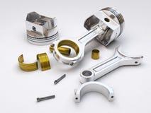 Piston de moteur illustration stock