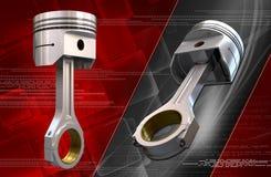 Piston de moteur illustration de vecteur