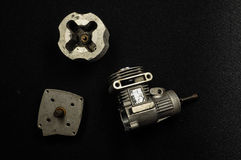 Piston engine motor 3d model Stock Image