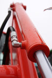 Piston hydraulique. Image libre de droits