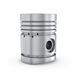 Piston isolated on white backgound Royalty Free Stock Photo