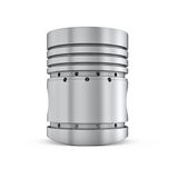 Piston isolated on white backgound Royalty Free Stock Image