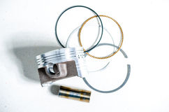 Piston and set of ring Stock Images