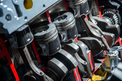 Piston system. To used engine Royalty Free Stock Images