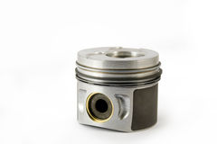 Piston on white endless background (side) Royalty Free Stock Photo