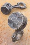 Pistone del cilindro Immagini Stock