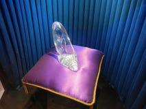 Pistone di vetro della Cinderella Fotografia Stock Libera da Diritti