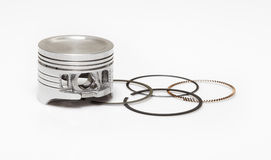 Pistone ed insieme dell'anello Fotografie Stock
