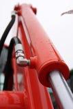 Pistone idraulico. Immagine Stock Libera da Diritti