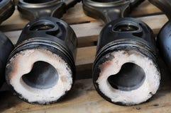 pistones Foto de archivo libre de regalías