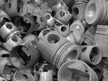 Pistones del motor Foto de archivo libre de regalías