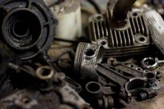 Pistong från motorn Royaltyfri Foto