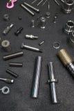 Pistong och cylinder Fotografering för Bildbyråer