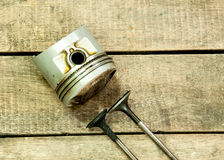 Pistong ventiler Arkivfoton