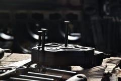 Pistongerna för motor royaltyfria bilder