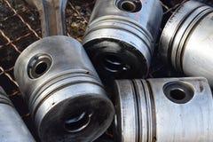 Pistongerna för motor royaltyfri fotografi