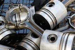 Pistongerna för motorn royaltyfri bild