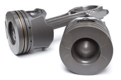 Pistons and connecting rods Stock Image