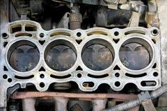 Pistons d'engine photographie stock libre de droits