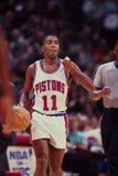 Pistons d'Isaïe Thomas Detroit image stock