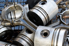 The pistons for engine Royalty Free Stock Images