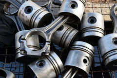 The pistons for engine Royalty Free Stock Photos