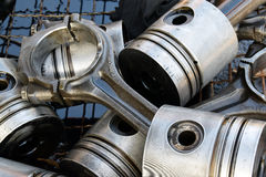 The pistons for the engine Royalty Free Stock Image