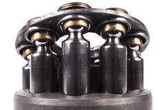 Pistons Front Closeup Royalty Free Stock Photo