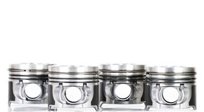 Pistons isolated on white Stock Photo