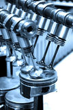 Pistons and valves Royalty Free Stock Photos